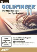 Goldfinger 11: Der ultimative Tipp-Trainer NEU