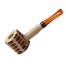 Natural Corn Cob Wooden Wood Handle Smoking Pipe Tobacco Cigarettes Cigar Pipes