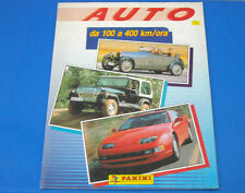 Album Figurine Panini Auto da 100 a 400 km/h 1991 - Completo a metà - Perfetto