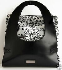 C'N'C' Costume National Bag Shopping Bag Leather Canvas New