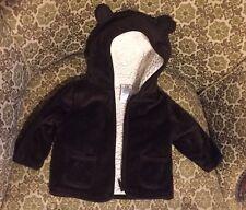 Garanimals 6-9 Mths Bear Hoodie Brown Jacket w/Ears