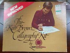 Vintage The Ken Brown Calligraphy Kit by Hunt Speedball 3078 original box sealed