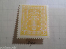 AUTRICHE AUSTRIA, 1922, timbre 270, ARMOIRIES, neuf*, OSTERREICH VF MH STAMP