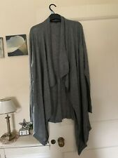 French Connection Woman Cardigan Grey Size XL