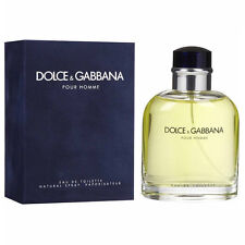 DOLCE & GABBANA Pour Homme * MEN'S COLOGNE *4.2 oz EDT D&G *NEW PERFUME IN BOX