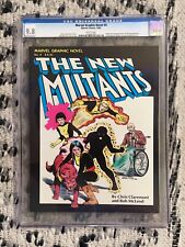 MARVEL GRAPHIC NOVEL #4 CGC 9.8 NM/MT - 1st APPEARANCE & ORIGN of NEW MUTANTS!
