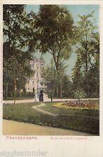 Franzensbad Frantiskovy Lazne AK um 1900 Villa Imperial Tschechien Ceska 1604483