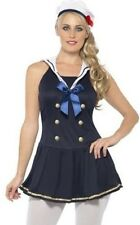 SEXY LADIES SAILOR FANCY DRESS COSTUME OUTFIT 8 10 12 14 16 18.
