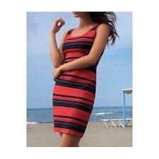 Lise Charmel Robe de plage CAP ODYSSEE rouge marine or T4