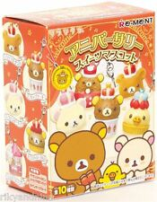 Rilakkuma Re-Ment 10th Anniversary Sweets kawaii mini toy Phone Charm dust plug