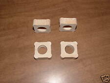 """FOUR 1/2"""" by 1"""" KILN POSTS Glass Fusing Supplies Durable Ceramic"""