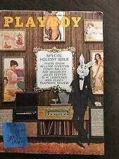 PLAYBOY Magazine Vtg Jan 1962 HEMINGWAY Bio Pt 2 BRADBURY Henry Miller Holiday