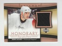 (59329) 2005-06 UPPER DECK TRILOGY HONORARY SWATCHES JOHN LeCLAIR #HS-JL