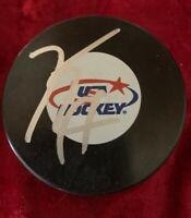 KEVIN HAYES SIGNED WINNIPEG JETS Puck NY RANGERS NHL USA HOCKEY AUTOGRAPHED