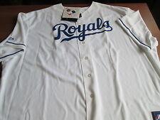 Nwt Majestic Kansas City Royals #48 Joakim Soria Sewn Baseball Jersey 4 Xlarge