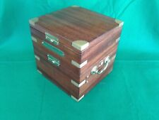 Ships chronometer, Hamilton 21 mounting box