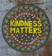 Natural Life Car Magnet Kindness Matters Trendy Gift Auto Decal Kind Sticker