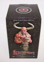 "Brian Pulido's Lucifer 8"" Bust COA Reg Ed Limited 3,000 Chacos Comics NIB Sealed"