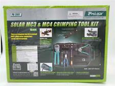 NEW Pro's Kit Solar MC3 & MC4 Crimping Tool Kit PK-2061 For Solar Connectors