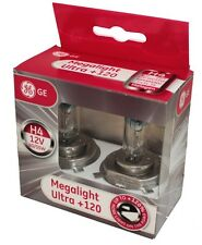 General Electric 50440SNU H4 12V 60/55W P43t MegaLight Ultra +120% Doppelbox