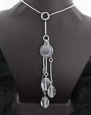 halskette mit Anhänger 925er Silber von Jette Joop Bergkristall Steine