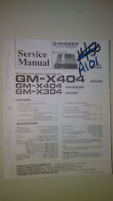 pioneer gm-x404 x304 service manual original repair book stereo power amp