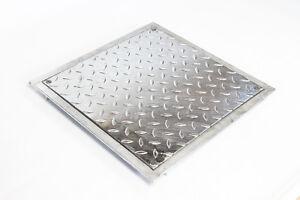 Stahl-Schachtabdeckung - tagwasser- und geruchsdicht - verzinkt