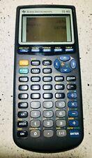 Texas Instruments TI 83 Graphics Programmable Calculator