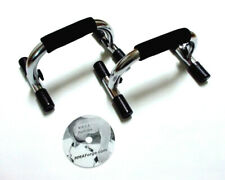 Fitness Push-ups with and without Handles Dvd 1 Push-up Handles Bars Set