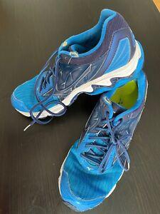 MIZUNO Wave Inspire 14 Running Shoes Men Scarpe Corsa Uomo EUR 43 USA 10 azzurro