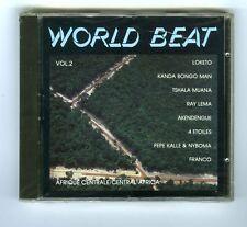 CD (NEW) VOL 2 WORLD BEAT AFRIQUE CENTRALE (AKENDENGUE RAY LEMA LOKETO )