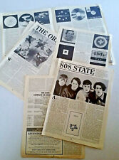 808 State / The Orb 16 pg. Articles & Discog Record Collector Ambient Techno