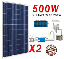 Solar Cell Panel Kit Rough Edge USA to 500w (250x2) for only a Watt Photovoltaic