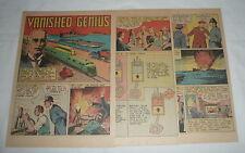 1946 cartoon story ~ DR RUDOLPH DIESEL