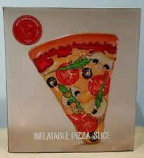 INFLATABLE PIZZA SLICE LILO SWIMMING POOL FLOAT SUN LOUNGER BEACH GIANT 🍕NEW🍕
