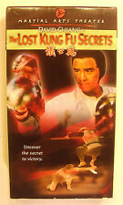 The Lost Kung Fu Secrets VHS