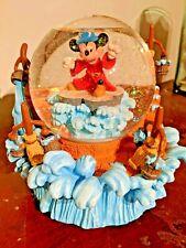 Disney's Mickey Mouse Musical Snow Globe Fantasia The Sorcerer's Apprentice
