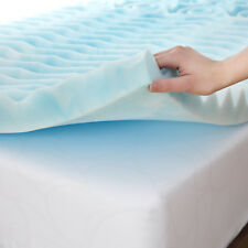 "3"" Inch King Size Orthopedic 5-Zone Foam Mattress Topper Mattress Upgrade pad"