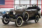1929 Ford Model A Phaeton 1929 Ford Model A Phaeton 642 Miles Brown Convertible 4cyl Manual