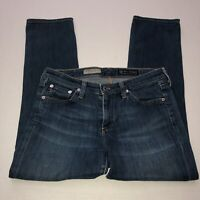 AG Adriano Goldschmied Women's the Stevie Slim Straight Crop Jeans Size 27R