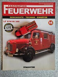 Feuerwehr DeAGOSTINI (14) 1:72 LF STEYR 380