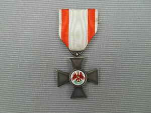 Orden-Kreuz : Roter Adler Orden Preußen am Trage-Band mit emailliertem Medaillon
