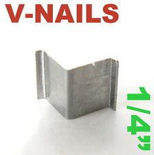 "420 pc V-Nails V-Nail 1/4"" for Soft Wood Type: UNI Picture Framing sct-888"