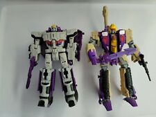 Transformers Generations Triple Changer Loose Lot (Astrotrain and Blitzwing)