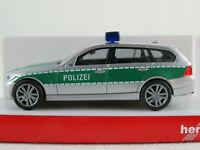 """Herpa 046923 BMW 3er Touring """"POLIZEI / BMW-Prototyp IAA 2005"""" 1:87/H0 NEU/OVP"""
