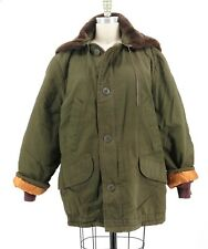 Vintage US Army Air Forces ?? Winter Quilted Insulated Parka Bomber Jacket Sz L