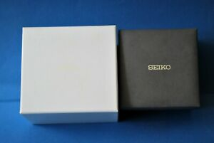 VINTAGE SEIKO/JAPAN ORIGINAL LUXURY WATCH BOX FROM THE 80s.