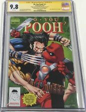 Do You Pooh #1 Houston Comic Con New Mutants #93 Homage Signed Sketch CGC 9.8 SS
