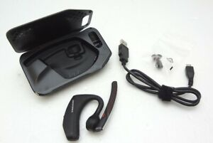 Plantronics Voyager 5200 Black Mono Bluetooth Headset with charging case TESTED