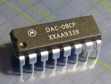 2x DAC-08CP 8bit multiplying D/A-Converter, Motorola